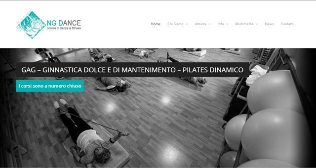 Il nuovo sito NG Dance è Online !